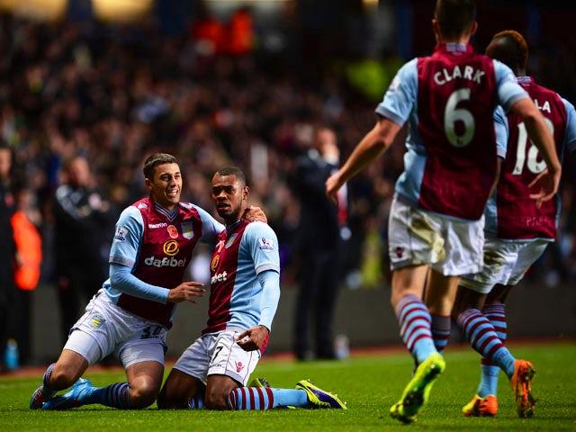 Result: Villa strike late to win