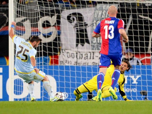 Result: Basel, Steaua share spoils