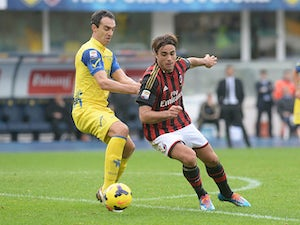 Milan frustrated by Chievo