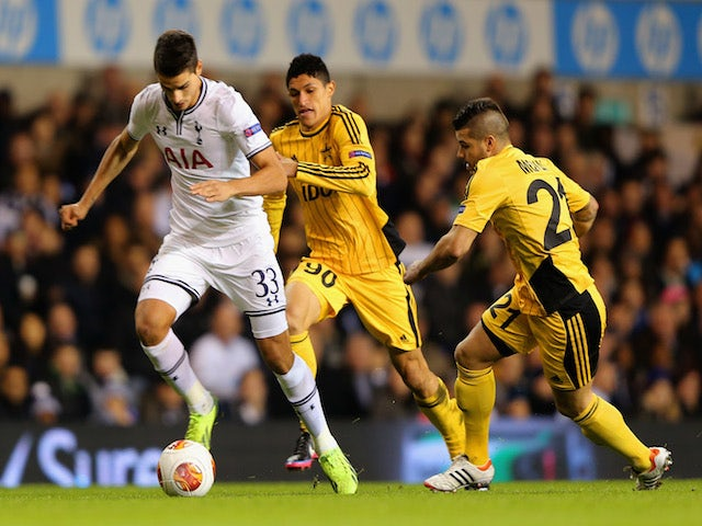 Result: Spurs edge past Sheriff Tiraspol