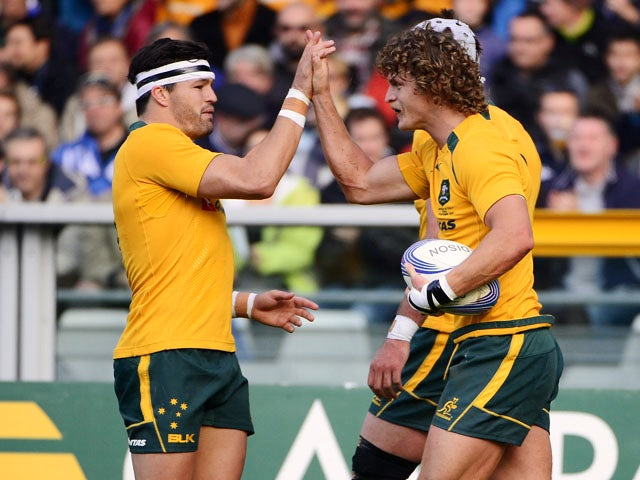 Result: Australia thrash Italy in Turin