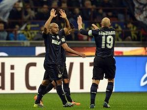 Inter brush off Livorno