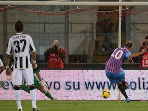 Catania edge past Udinese