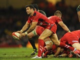 Wales player Mike Phillips in action against South Africa during an international match on November 9, 2013