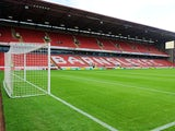 A general view inside Barnsley FC's Oakwell stadium on October 29, 2011