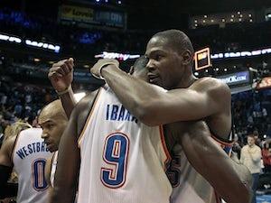 NBA roundup: Thunder topple Spurs