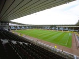 A general view of Pride Park, home to Derby County, on July 1, 1997