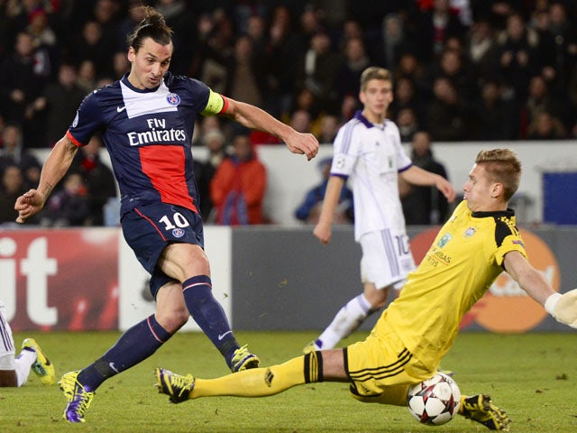 Result: Ibrahimovic rescues draw for PSG