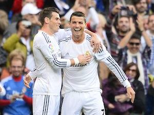 Team News: Ronaldo, Bale in Madrid XI