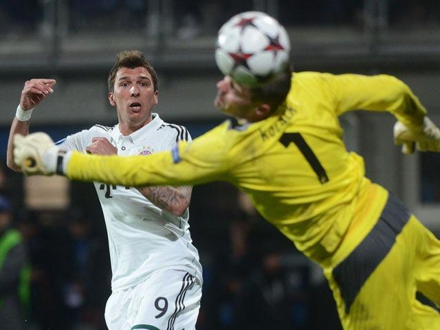 Result: Mandzukic heads Bayern to victory