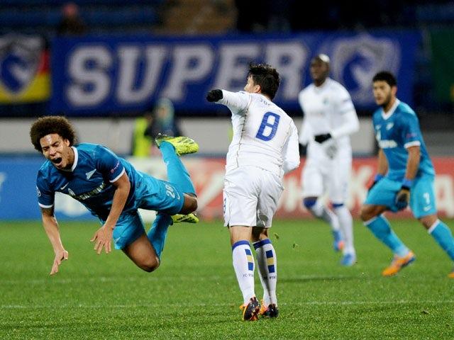 Result: Zenit, Porto share spoils