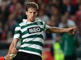 Sporting's midfielder Adrien Silva in action against Benfica on November 9, 2013