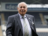Hull City chairman Assem Allam looks on prior to the Barclays Premier League match between Hull City and Norwich City at the KC Stadium on August 24, 2013