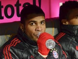 Bayern Munich's Brazilain defender Breno sits on the bench during the German first division Bundesliga football match FC Bayern Munich vs VfL Wolfsburg in the southern German city of Munich on January 28, 2012