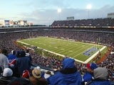 A view inside Ralph Wilson Stadium during a football game between the Washington Redskins and the Buffalo Bills on October 19, 2003