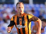 David Meyler of Hull City looks on during the pre season friendly match between Peterborough United and Hull City at London Road Stadium on July 29, 2013