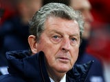 England manager Roy Hodgson looks on prior to the international friendly match between England and Chile at Wembley Stadium on November 15, 2013
