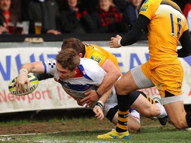 Result: Wasps beaten at Newport