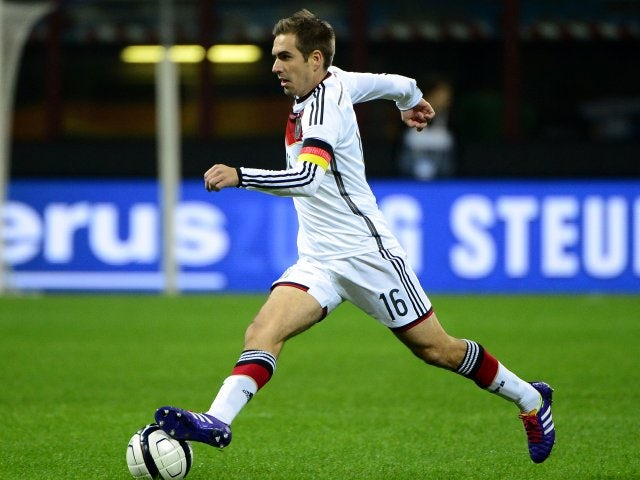 Philipp Lahm in action for Germany against Italy on November 15 1ffa7a952cd12
