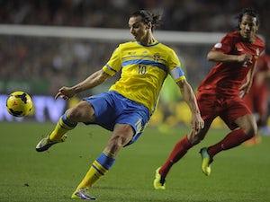 Team News: Zlatan Ibrahimovic starts for Sweden