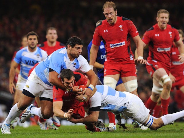 Result: Wales comfortably beat Pumas