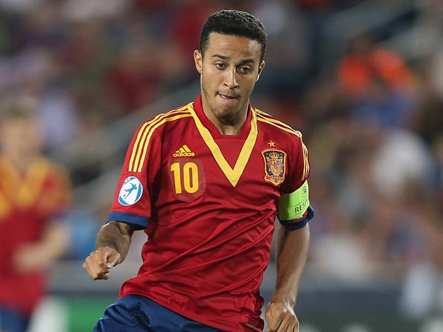 Result: Pedro strike gives Spain victory