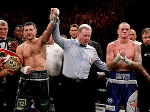 Froch ready for Groves rematch