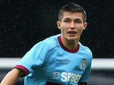 Dan Potts of West Ham United in action during the Pre-Season Friendly match between Southend United and West Ham United at Roots Hall on July 14, 2012