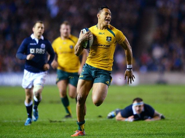 Result: Australia overcome Scotland