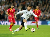 Kyle Walker of England in action during the FIFA 2014 World Cup Qualifying Group H match between England and Montenegro at Wembley Stadium on October 11, 2013