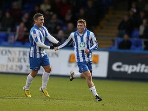 Result: Hartlepool secure win away at Exeter