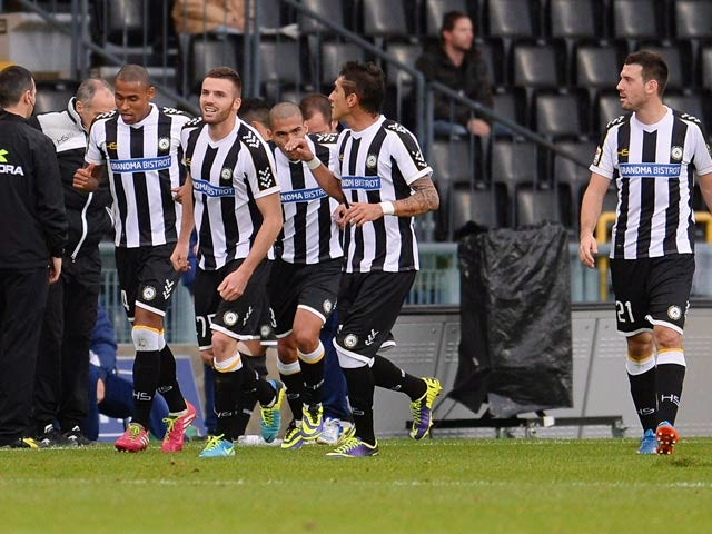 Result: Udinese stun high-flying Fiorentina