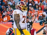 Trent Williams of the Washington Redskins during the match against the Denver Broncos at Sports Authority Field Field at Mile High on October 27, 2013
