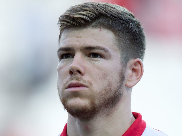 Alberto Moreno of Sevilla FC looks on prior to start the UEFA Europa League group H match between Sevilla FC and SC Freiburg at Estadio Ramon Sanchez Pizjuan on October 3, 2013