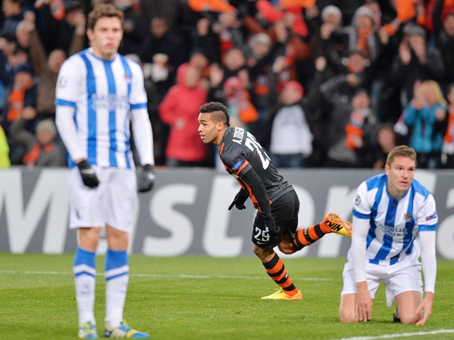 Result: Shakhtar comfortably beat Real Sociedad