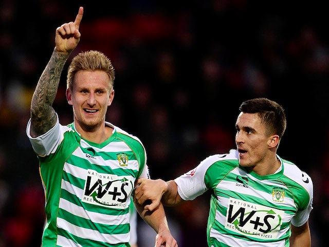 Result: Yeovil overturn two-goal deficit