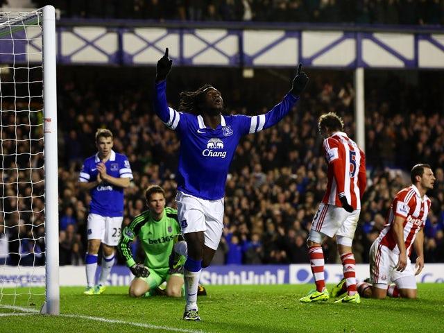 Result: Everton thrash Stoke at Goodison