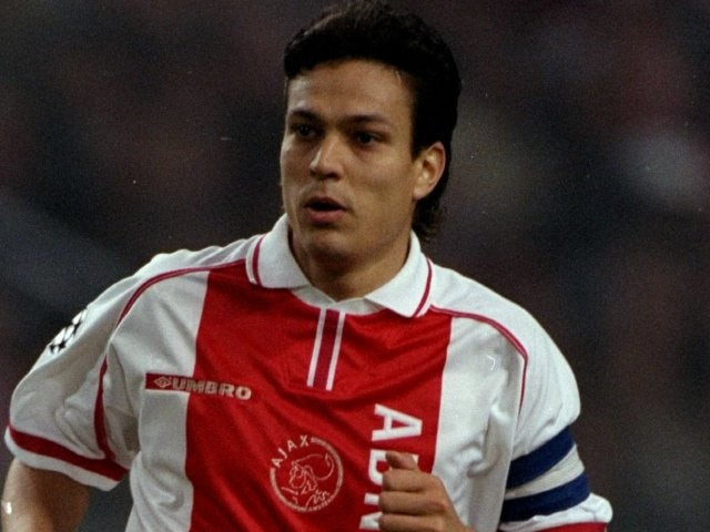 Jari Litmanen in action for Ajax on September 30, 1998.