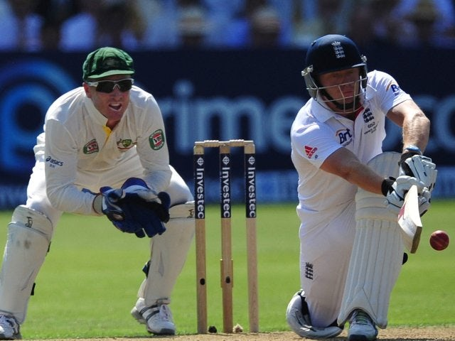 Jonny Bairstow bats for England against Australia at Lord's on July 18, 2013.