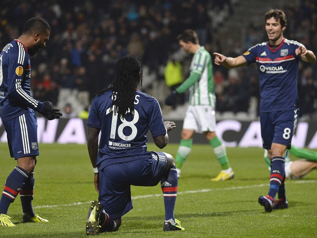 Result: Lyon edge past Betis