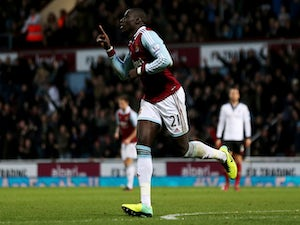 Diame disappointed by West Ham draw