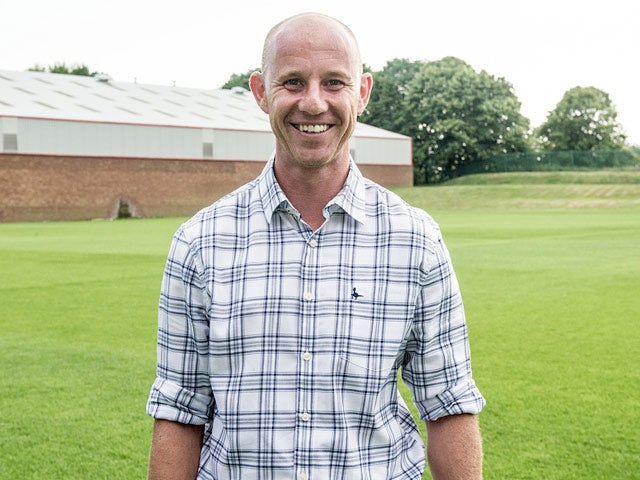 Nicky Butt during a photoshoot for the documentary 'The Class of '92'