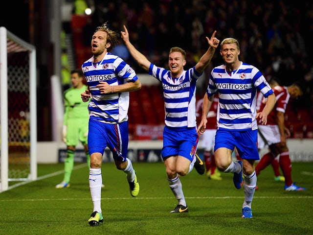 Result: Late Kelly goal earns Reading draw