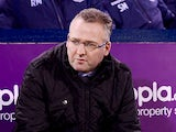 Paul Lambert manager of Aston Villa looks on prior to the Barclays Premier League match between West Bromwich Albion and Aston Villa at The Hawthorns on November 25, 2013