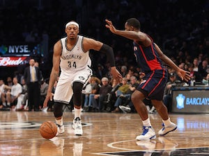 Pierce: 'Nets are becoming more competitive'