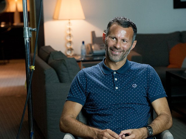 Ryan Giggs during a photoshoot for the documentary 'The Class of '92'