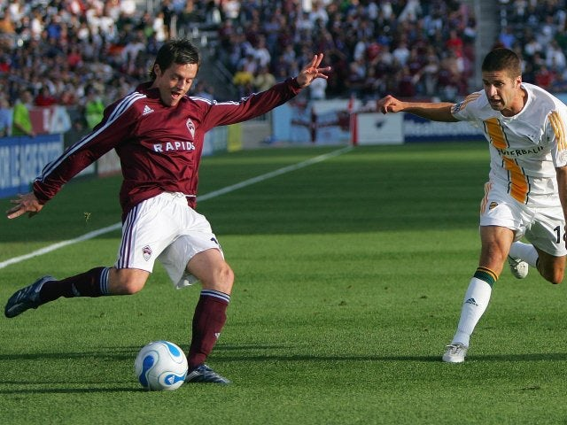 Terry Cooke in action for the Colorado Rapids on May 26, 2007.