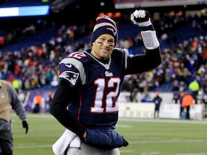 Brady happy with receivers