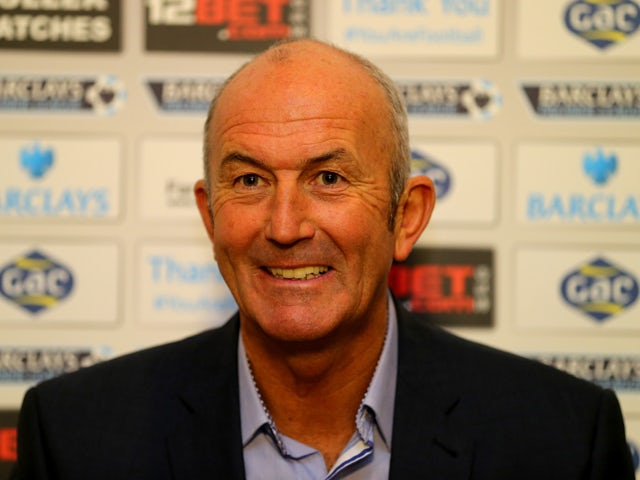 Tony Pulis speaks during a press conference after being unveiled as the new Crystal Palace Manager on November 25, 2013