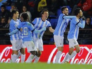 One goal enough for Malaga
